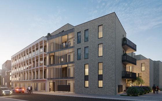 6% btw bij nieuwbouwproject Hastrid in Hasselt