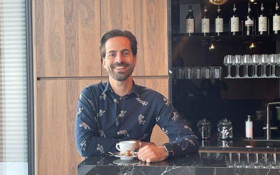 Op de koffie bij Joris