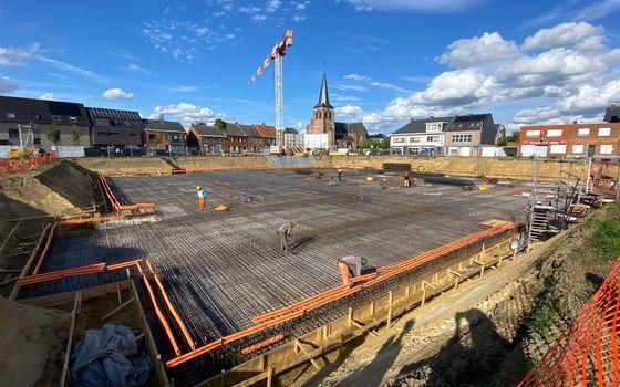 Foto-update werken te Herselt op 29 september 2021