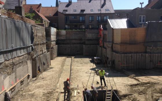 Maiden Lane - Vordering der werken
