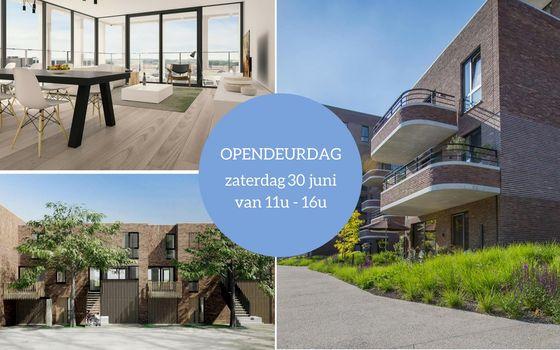 Opendeurweekend op 30 juni & onthulling modelwoning