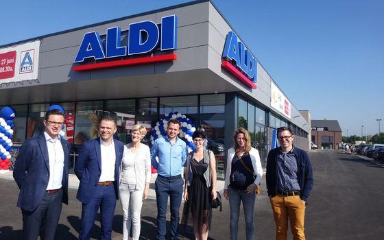 Opening Aldi Meeuwen