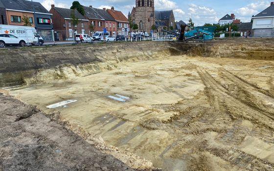 Werken gestart Residentie De Hessel dd. 24 augustus 2021