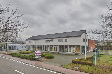 Commercieel gelijkvloers te huur in Ham