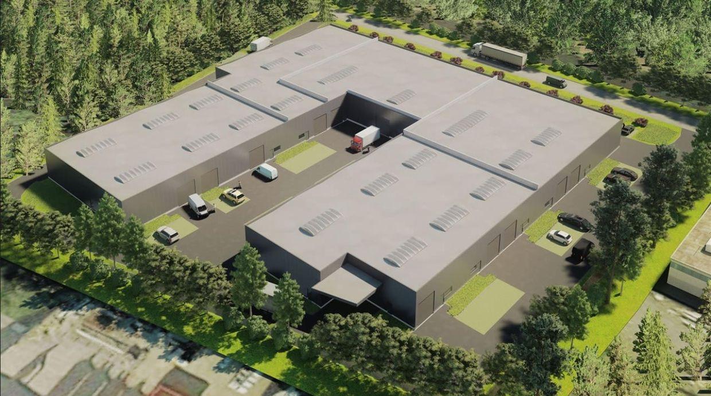 Industrieel gebouw te huur in Ham