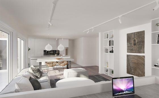 Penthouse te koop in Meeuwen-Gruitrode